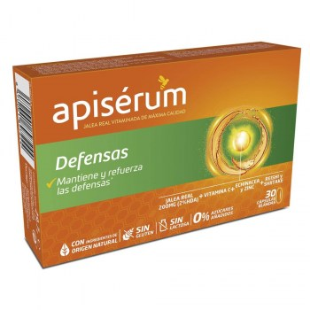 apiserum defensas 30 capsulas